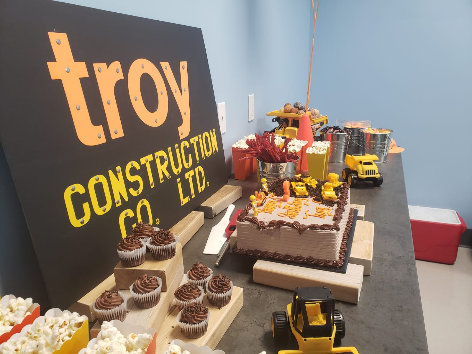 Troy's Construction theme